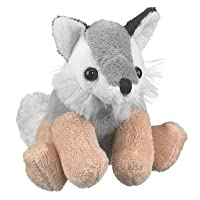 Wolf Stuffed Grey Wolf Toy By Wild Life Artist by Wildlife Artists