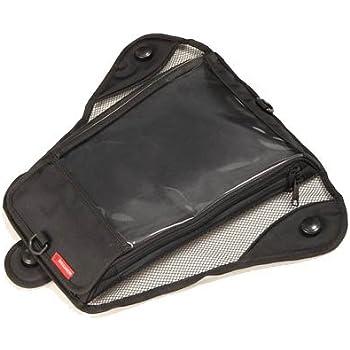 DEGNER(デグナー) B5版ツーリングマップルRに対応 交換可能吸盤式 タンクバッグ タンクマップケース ブラック NB-27A