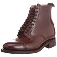 Sanders Military Cap Toe Boot 8946: Rich Tan