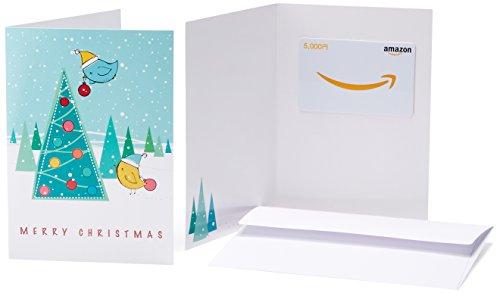 Amazonギフト券(グリーティングカードタイプ) - 5,000円 (クリスマス)