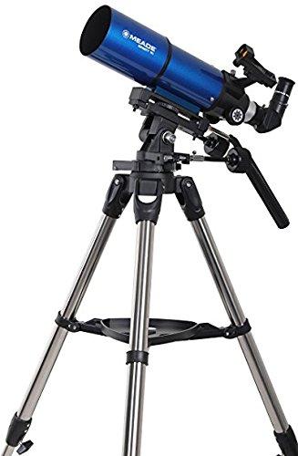 MEADE 天体望遠鏡 AZM-80 星空散歩ライトII 観測キット アクロマート 口径80mm 焦点距離400mm 屈折式 ブルー 003466