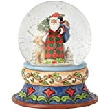 ENESCO Santa with Deer Snowglobe 4058796