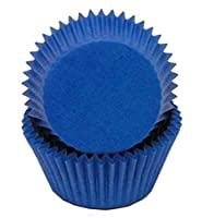 Golda's Kitchen 100 Count Solid Baking Cups, Standard Sized, Blue by Golda's Kitchen