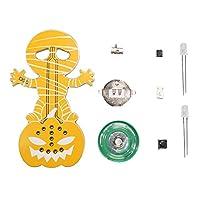 Baoyouls ハロウィーンホラーパンプキンヘッドミイラゴーストスクリーミングDIYキット電子キットの装飾