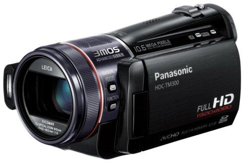 Panasonic デジタルハイビジョンビデオカメラ ブラック HDC-TM300-K