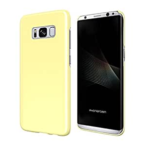 ROOX PhoneFoam Sugar POP for GALAXY S8 イエロー PHFSPPGS8-YW