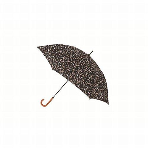 マブ(mabu) 【長傘・ジャンプ式】レジェ ワンタッチ軽量スリム傘(レディース雨傘)【グロウノワール/**】