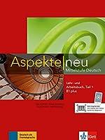 Aspekte neu in Halbbanden: Lehr- und Arbeitsbuch B1 plus Teil 1 mit CD