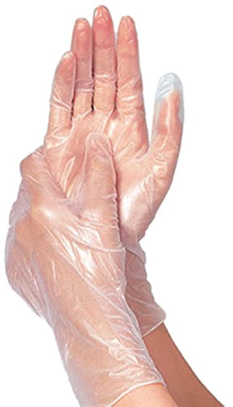 イノセンス連結する熱竹虎 タケトラプラスチック手袋パウダーフリーS 100枚 75802