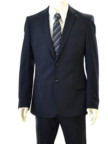 (アクアスキュータム) AQUASCUTUM 2つボタン シングルスーツ 5Z220175384 52 ネイビー 並行輸入品