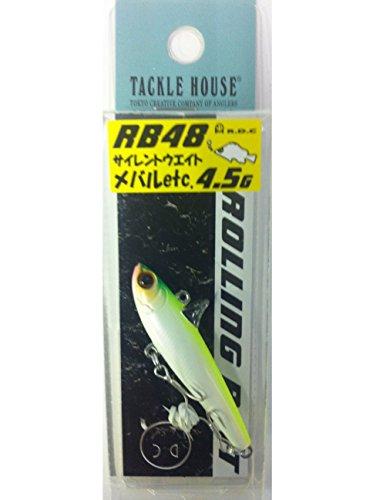 タックルハウス(TackleHouse) バイブレーション R.D.C ローリングベイト 48mm 4.5g パールチャート #1 RB48