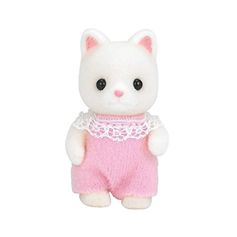 シルバニアファミリー 人形 シルクネコの赤ちゃん