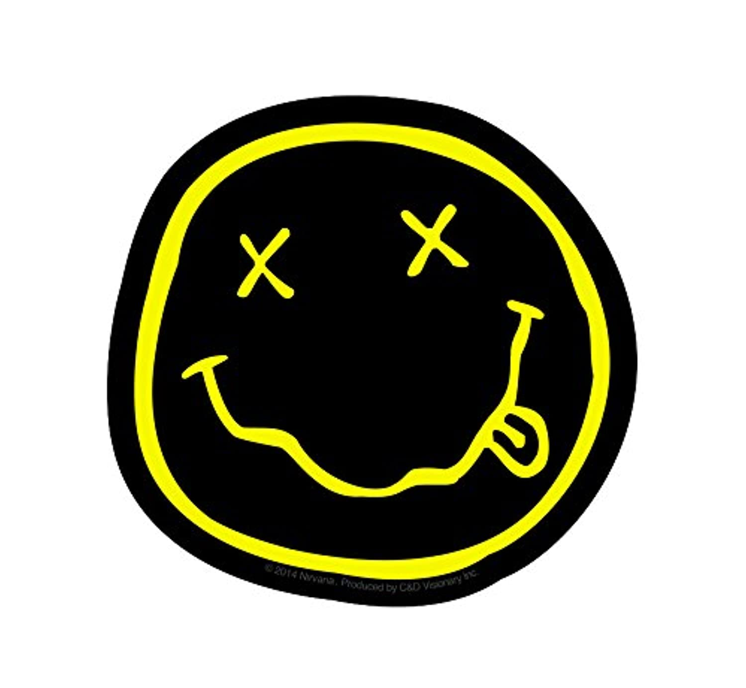 Licences Products Nirvana Smiley Sticker