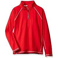 Amazon Essentials Boys' Half-Zip Active Jacket