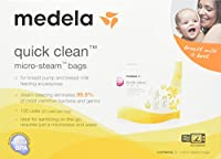 Medela Quick Clean Micro-Steam Bags Economy (20 Bags Total) by Medela