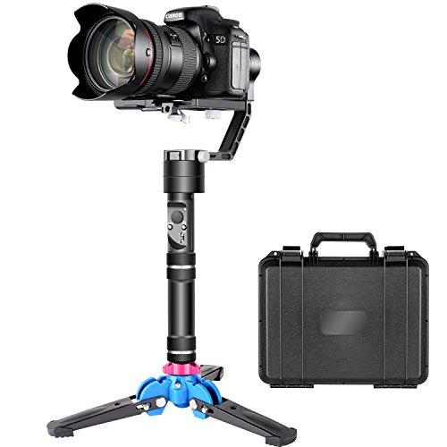 Neewer Crane V2 3軸ブラシレス手持ちジンバルスタビライザーキット 32ビットMCUsブラシレスモータ 三脚スタンドベース付 デジタル一眼レフとSony A7/A7II Fujifilm Panasonic Nikon J Canon M シリーズのミラーレスカメラに対応