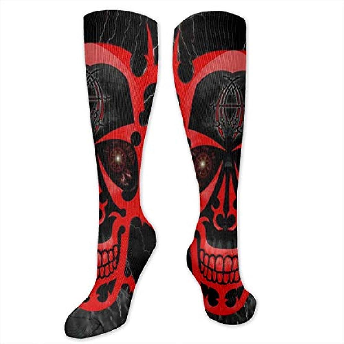 姉妹手のひら無法者Red Skull(2)クルーソックス男性用ノベルティファンキードレスソックスファニーソックス