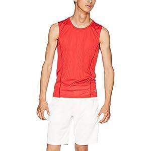 [MIZUNO] ランニングウェア ノースリーブシャツ [メンズ] J2MA8016 マーズレッド 日本 M (日本サイズM相当)