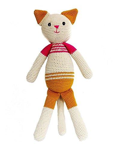Beuatiful Handmade, Handknit Dolls, ねぐるみ (Nekko the Cat)