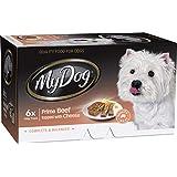 MY DOG Gourmet Beef Dog Wet Food 6 x 100g
