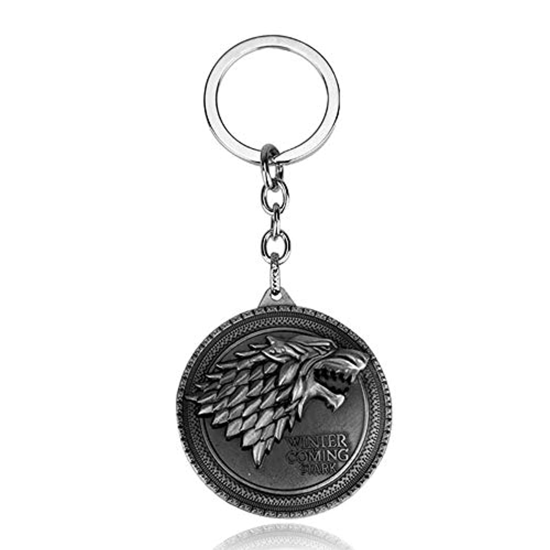 ゲームオブスローンズ キーホルダー Game of Thrones キーリング ゲームオブスローンズ 家族 バッジ キーチェーン 全 20 色