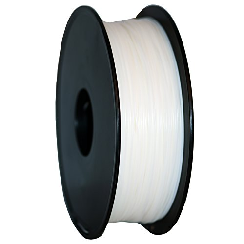GEEETECH 3Dプリンター用 PLA 樹脂 フィラメント【1.75mm径】【1KG】 (White)