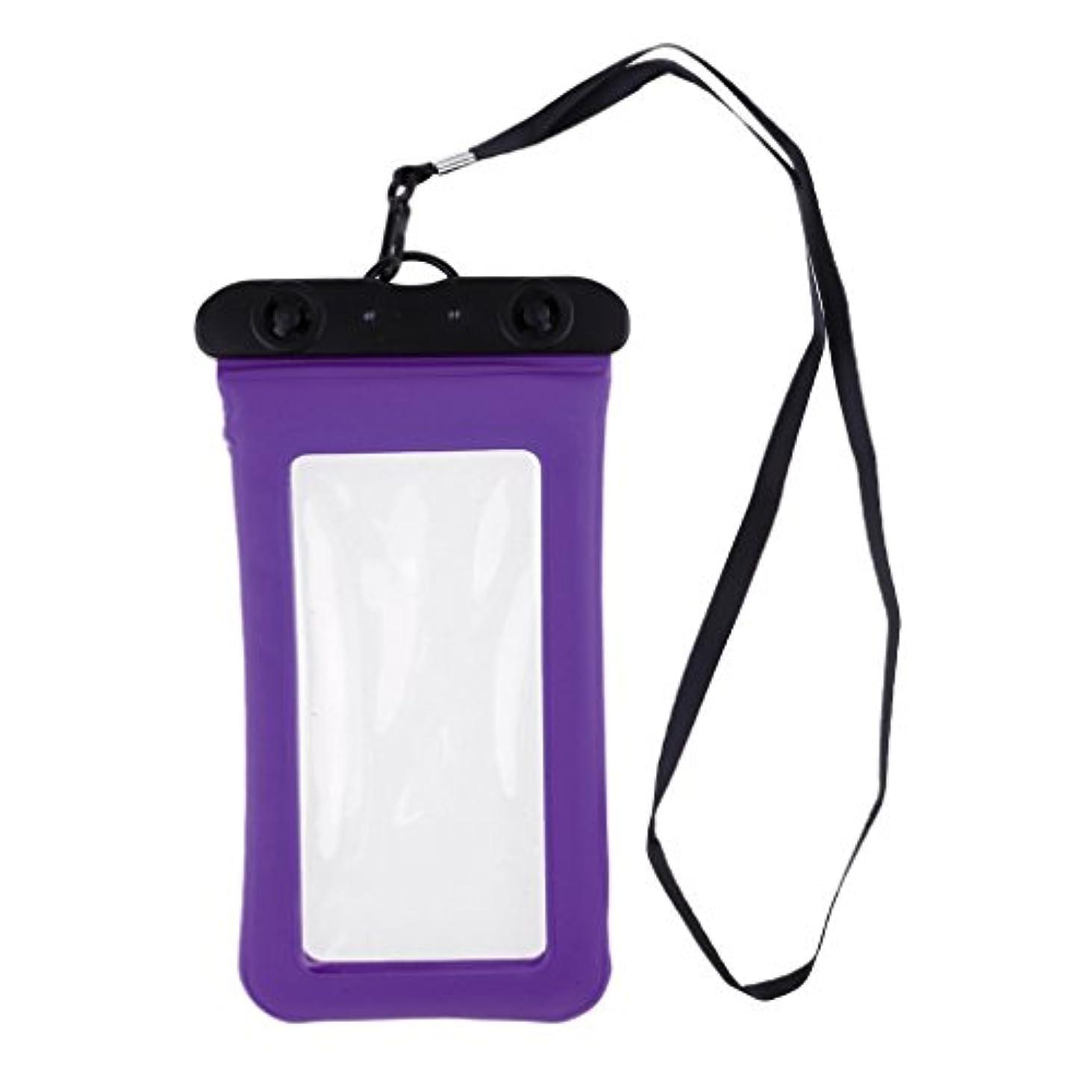 逆粘り強い美しいT TOOYFUL 防水電話ケース スマートフォン防水バッグ 防水携帯電話ケース 透明 水中撮影 フローティング全9色