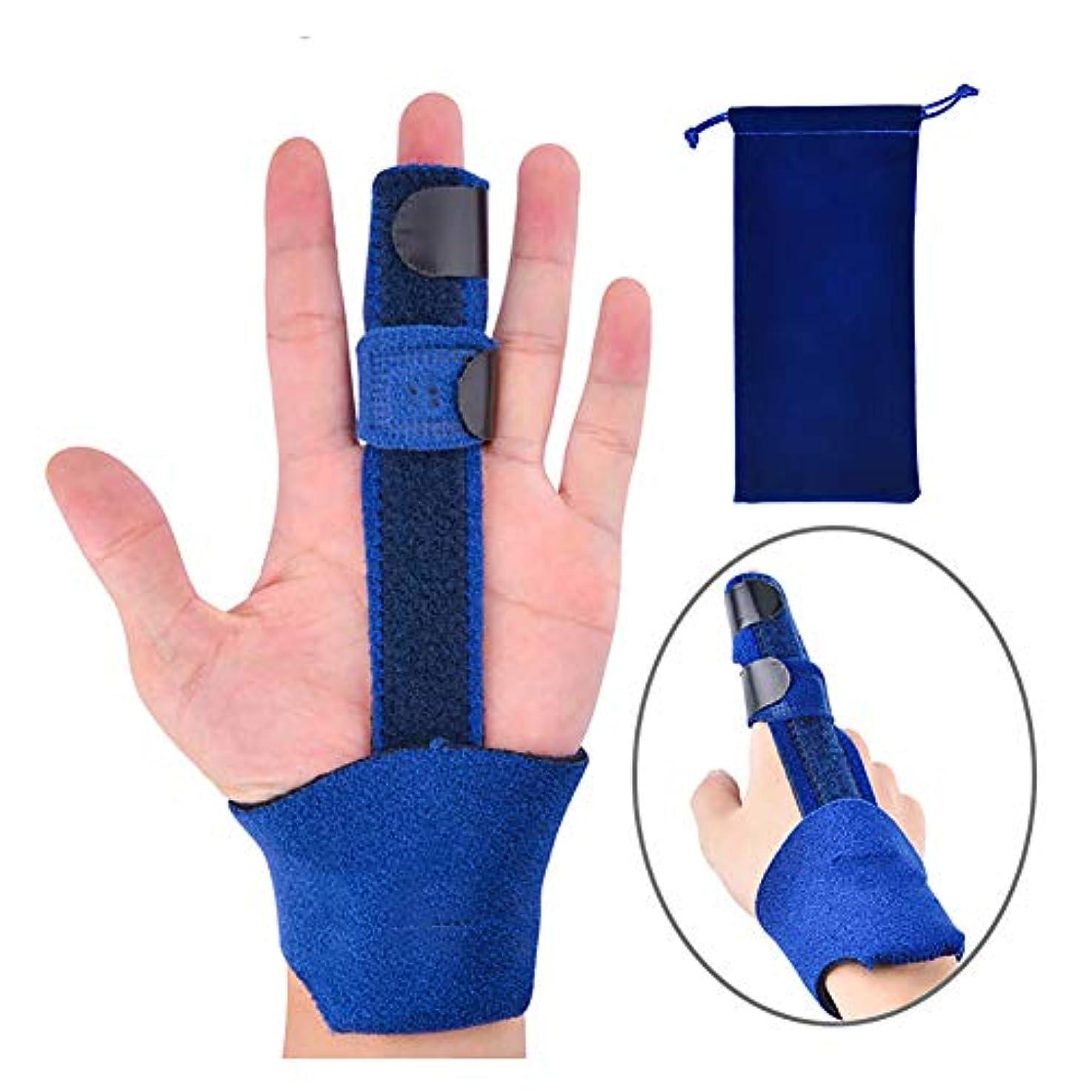 Trigger Finger Splint - 曲がった槌または関節炎の指の接合箇所、傷害、関節炎のためのまっすぐな医学等級の調節可能なアルミニウム指、トリガーの指