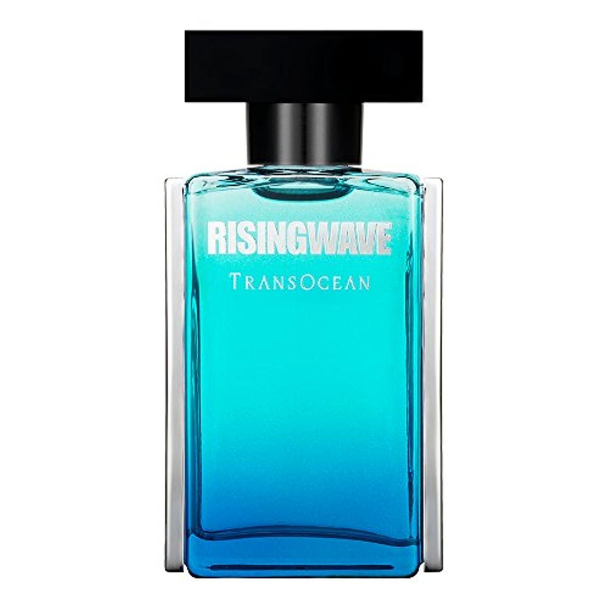 美容師ひいきにするささやきRISINGWAVE(ライジングウェーブ) ライジングウェーブ トランスオーシャン サージブルー オードトワレ 単品 50ml