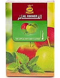 AL FAKHER アルファーヘル シーシャ フレーバー50g (Two Apples Al Fakher 50 G)