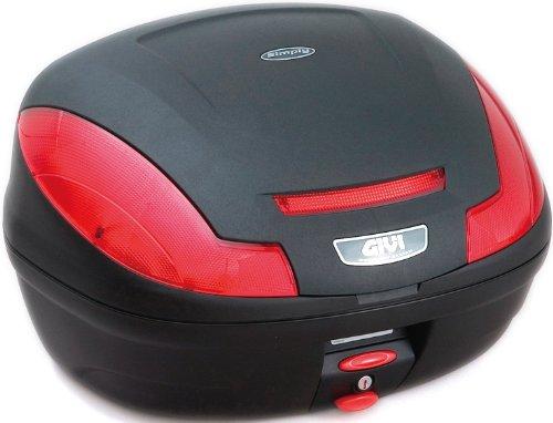 GIVI(ジビ)【イタリアブランド】 モノロックケース(トップケース/リアボックス) 未塗装ブラック E470ND 68059 高性能&スタイリッシュデザイン