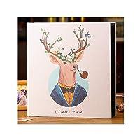 RCDD 家族のアルバムの本、間質家族大容量のアルバム、6インチの1000枚の写真を置くことができ、アルバムの誕生日の贈り物 (Color : F)