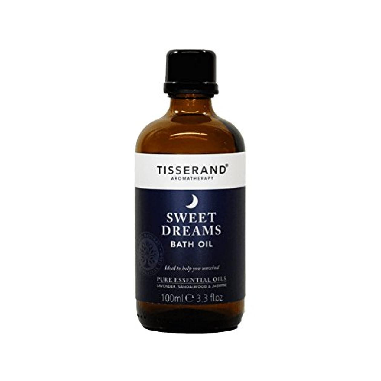 それによって腹寄り添うティスランド甘い夢バスオイルの100ミリリットル - Tisserand Sweet Dreams Bath Oil 100ml (Tisserand) [並行輸入品]