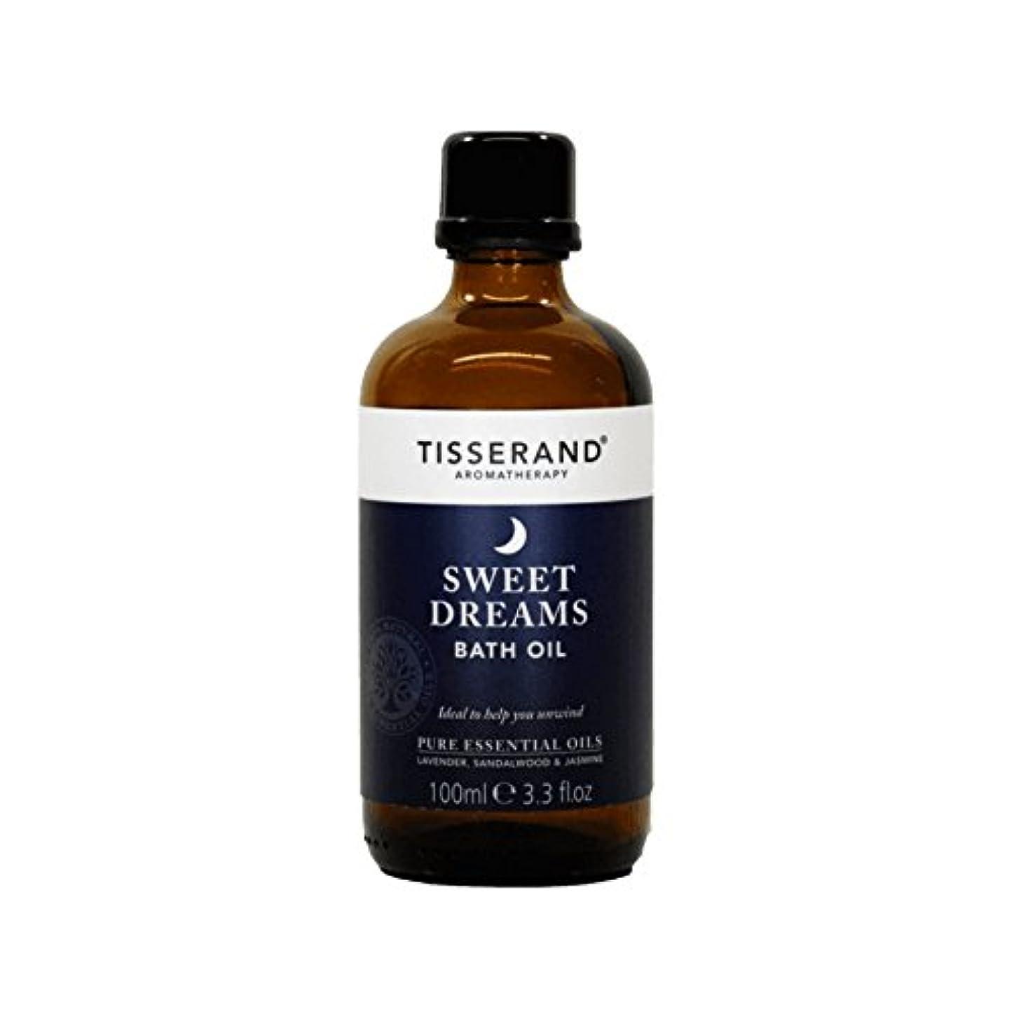 困った居心地の良い小学生Tisserand Sweet Dreams Bath Oil 100ml (Pack of 6) - ティスランド甘い夢バスオイルの100ミリリットル (x6) [並行輸入品]