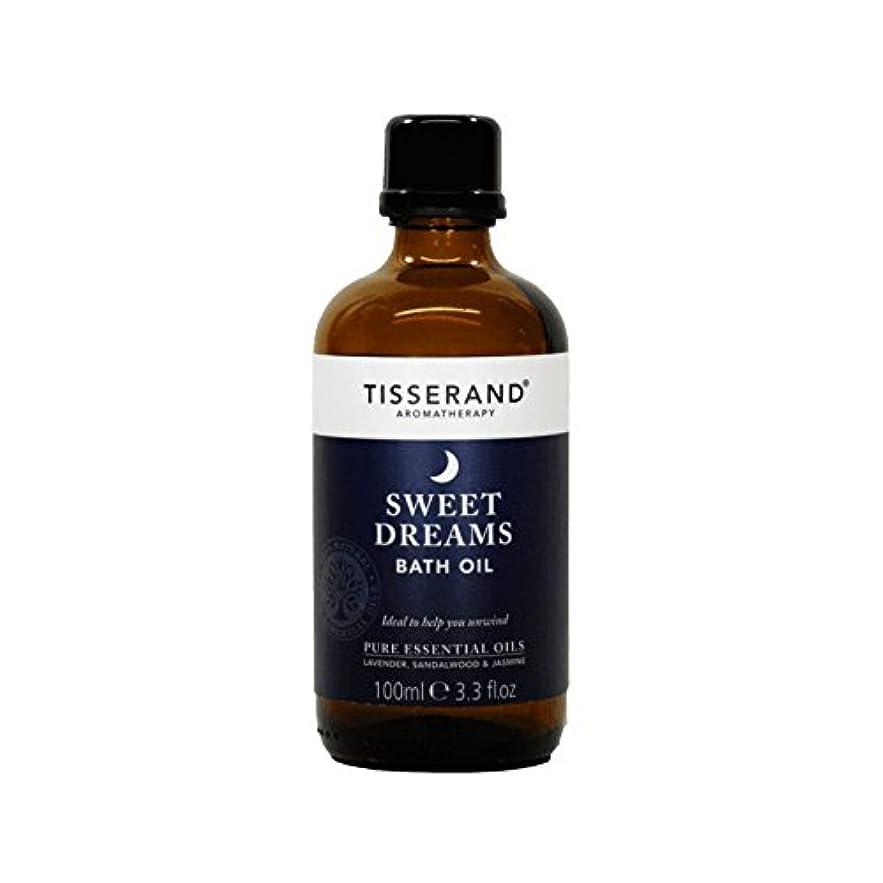 叙情的なきゅうり期待してTisserand Sweet Dreams Bath Oil 100ml (Pack of 2) - ティスランド甘い夢バスオイルの100ミリリットル (x2) [並行輸入品]