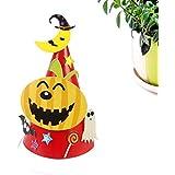 HuaQingPiJu-JP ハロウィーンの漫画の紙の帽子ハロウィーンの装飾ハロウィーン用品(カボチャ)