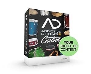 XLN Audio Addictive Drums 2 Custom ソフトウェアドラム音源 スタンドアローン / VST / AU / AAX対応