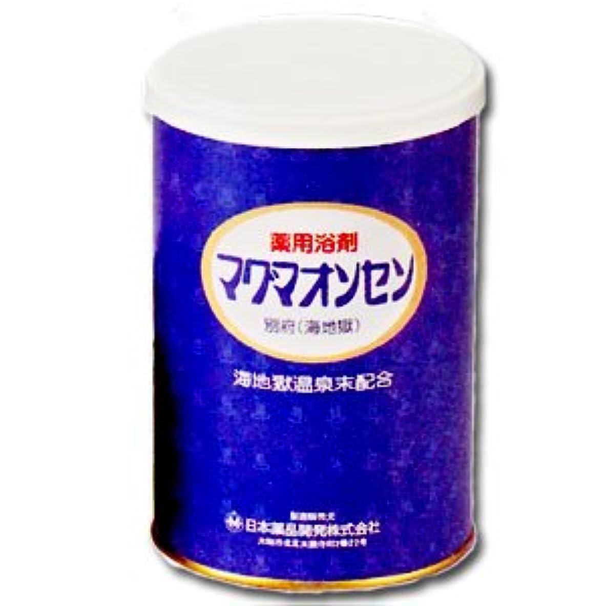 動力学怠感くつろぐ薬用入浴剤 マグマオンセン(医薬部外品)500g