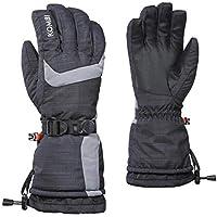 KOMBI (コンビ)55581 The Pioneer Mens Glove1725 Black Heather-Castlerock メンズ グローブ スノーボード スキー サイズ-M