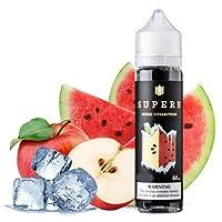 大人気 SUPERB VAPE 電子タバコ リキッド USA産 (Apple Melon X, 60ml)