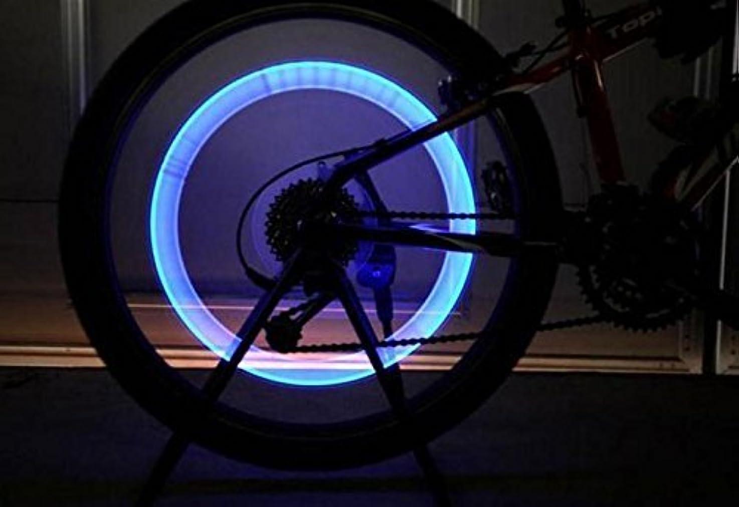 誇張するリーガン医薬自転車 LED ホイールライト 2個 レインボーカラー【オータムキャンペーンにつき送料無料?】