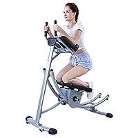 腹部フィットネスマシントレーナートレーニングマシン屋内用折りたたみ機器美容お尻腹部スポーツウエストマシン