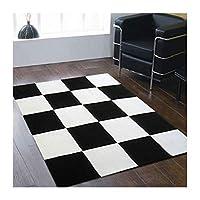 %エリアカーペット 手作りカーペットファッションパターンリビングルームコーヒーテーブル寝室のベッドサイドシンプルモダンカーペット暗号化肥厚 カーペット (色 : F f, サイズ さいず : 200cm*300cm)