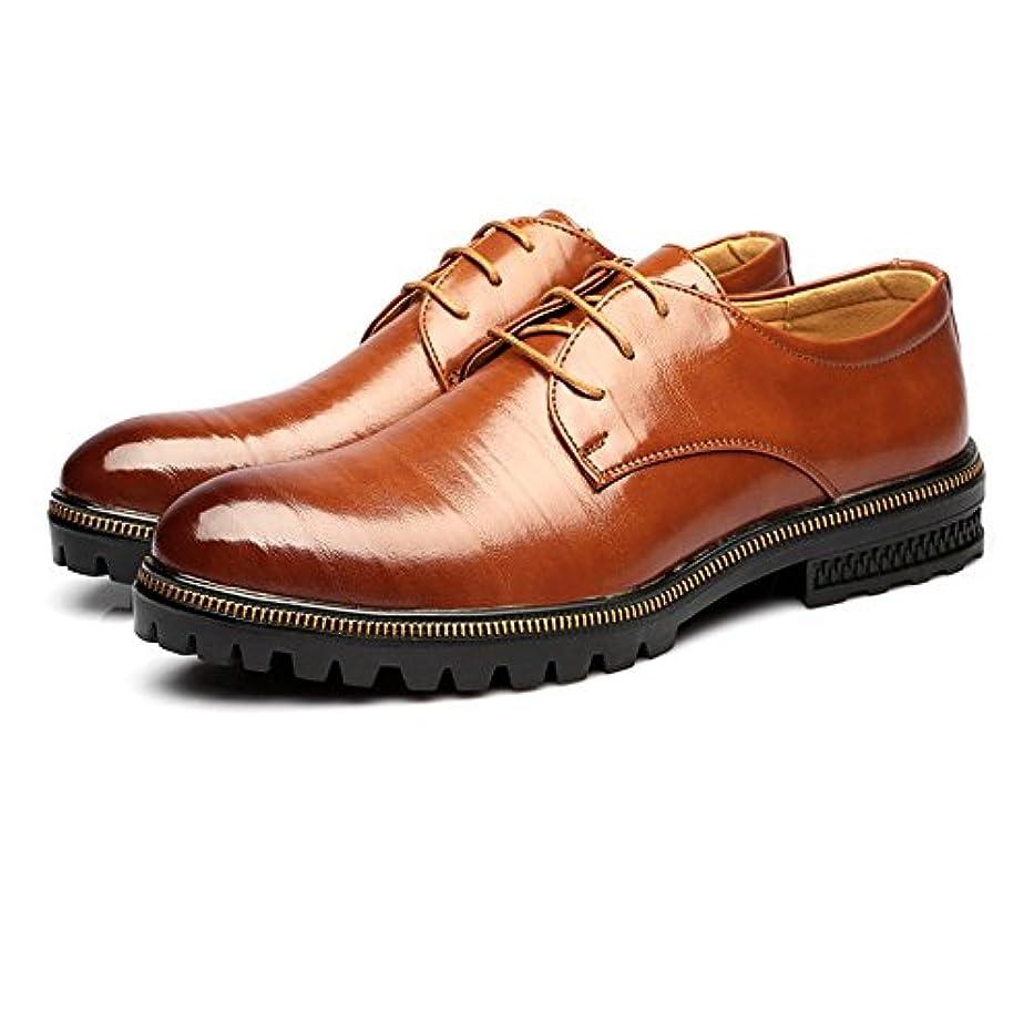 非常に怒っています秘書がっかりした革靴 メンズ ビジネスシューズ 本革レザー  低トップ  マット レースアップ 通気性裏地 アウトソール オックスフォードシューズ カジュアル