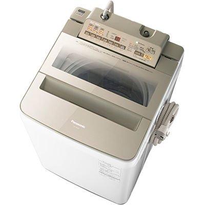 パナソニック 9.0kg 全自動洗濯機 シャンパンPanasonic エコナビ NA-FA90H3-N