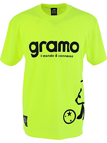 gramo(グラモ) プラクティスシャツ FAST2 P-026-13-L ネオンイエロー L