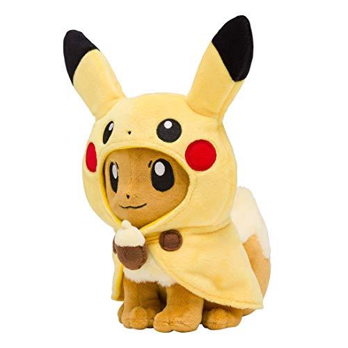 ポケモン(Pokemon) ポケモンセンターオリジナル ぬいぐるみ ピカチュウポンチョのイーブイ