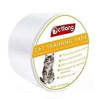 Demiawaking 家具防止テープ 爪研ぎステッカー 猫の爪みがき 透明 トレーニングテープ 爪とぎ 家具保護ステッカー カーペット専用テープ ソファー ベッド ソファ傷防止