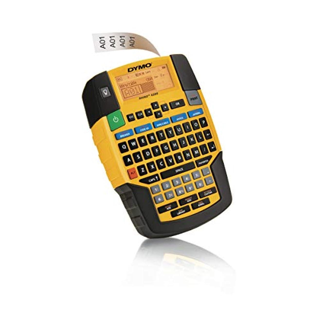 グリースひそかに無法者Dymo Rhino 4200 Label Maker for Security and Pro A/V