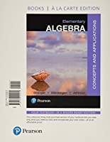 Elementary Algebra: Concepts and Applications, Books a la Carte Edition Plus MyLab Math -- 24 Month Access Card Package (10th Edition)